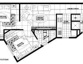 Nro 4 kilpailuun Re-design an apartment käyttäjältä alfaysal87