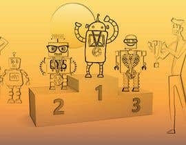 #6 for Robots on the podium winning Gold/Silver/Bronze Medals by emastojanovska