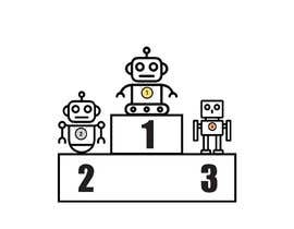 #2 for Robots on the podium winning Gold/Silver/Bronze Medals by youcefpoko32