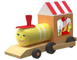 #11 untuk Design the Head Carriage of a Toy Train oleh caloylvr