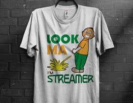 almamun5436 tarafından T shirt Design for Game Streaming or live streaming in general için no 24