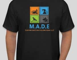 ElNagaar tarafından Need logo done for Cleaning Business. Company name is M.A.D.E Commercial Cleaning Services LLC. Company cleans offices in commercial buildings such as banks, daycares, doctor offices, corporate offices, schools.  Vacuums, brooms and mops are used. için no 72