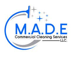 asifislam7534 tarafından Need logo done for Cleaning Business. Company name is M.A.D.E Commercial Cleaning Services LLC. Company cleans offices in commercial buildings such as banks, daycares, doctor offices, corporate offices, schools.  Vacuums, brooms and mops are used. için no 12