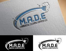 sunny005 tarafından Need logo done for Cleaning Business. Company name is M.A.D.E Commercial Cleaning Services LLC. Company cleans offices in commercial buildings such as banks, daycares, doctor offices, corporate offices, schools.  Vacuums, brooms and mops are used. için no 4