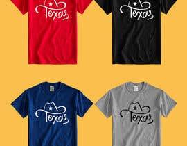 Nro 184 kilpailuun Texas t-shirt design contest käyttäjältä color78