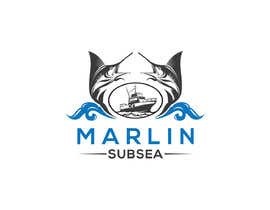"""#21 for Hi, we would like to have a Company Logo that includes the text """"Marlin Subsea"""" and a Marlin(the Fish). af Israk1996"""