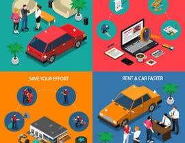 #3 for ATTRACTIVE RENT A CAR SLIDE SHOW DISPLAY af Yousefesam