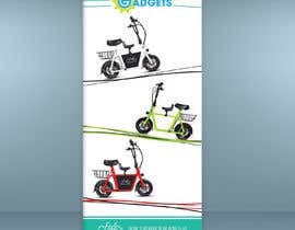 #34 for vertical banner for scooter by baburono