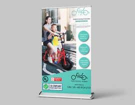#53 for vertical banner for scooter by apnchem