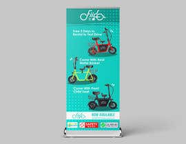 #71 for vertical banner for scooter by NazarAliDG