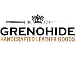 #75 untuk Vintage style logo for Leather craft hobby oleh cyberlenstudio