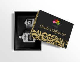 #9 для Candle and Diffuser set package design от vivekdaneapen