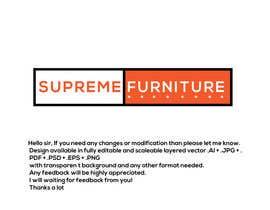 #164 for Create Logo - Supreme Furniture by Arfanmahedi