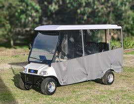 focusbilal tarafından photoshop weather curtains on to long golf cart için no 5