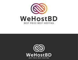 #18 for WebHosting Company Logo With Icon Make by Fuadfarabi