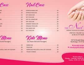nº 6 pour Need a TriFold Brochure design for Nail Salon par FarooqGraphics