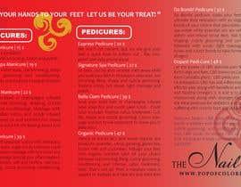 nº 20 pour Need a TriFold Brochure design for Nail Salon par techfanta