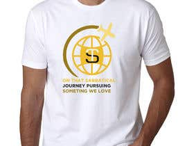 #33 для I need a travel symbol that black and gold globe with a black plane flying around the globe.    Shirt text (On That Sabbatical Journey Pursuing Something We Love. от mominulhaque6264