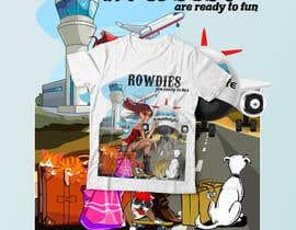 Nro 90 kilpailuun High quality Eye catching travel tshirt käyttäjältä RibonEliass