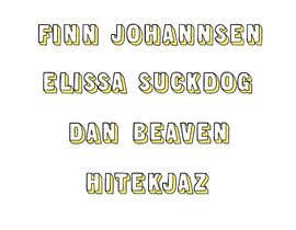 #92 untuk Illustrate some text in the same style as my examples oleh mdfahimhossain32