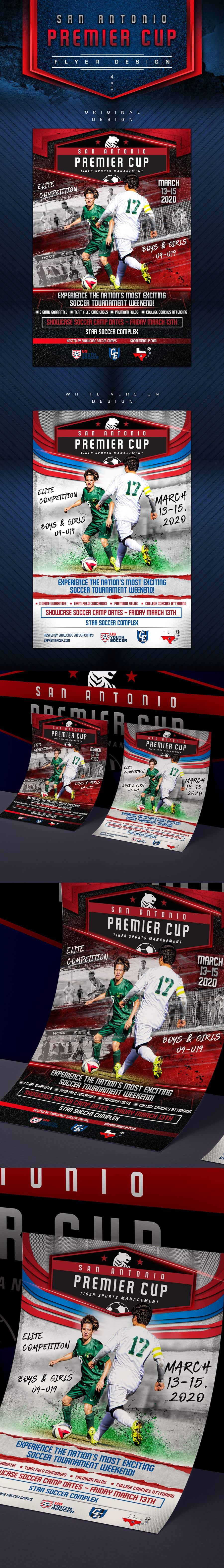 Penyertaan Peraduan #59 untuk Looking to have soccer tournament flyers done