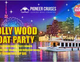 #28 for Designing Creatives for Bollywood Boat Cruise Party by pinky2017
