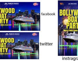 #31 for Designing Creatives for Bollywood Boat Cruise Party by amit1sadukha