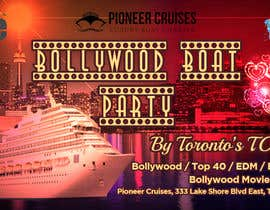 #34 for Designing Creatives for Bollywood Boat Cruise Party by UdhayasuriyanS