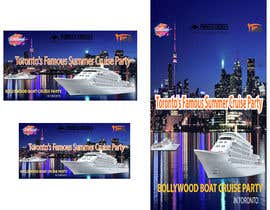 #26 for Designing Creatives for Bollywood Boat Cruise Party by obydullahfreelan