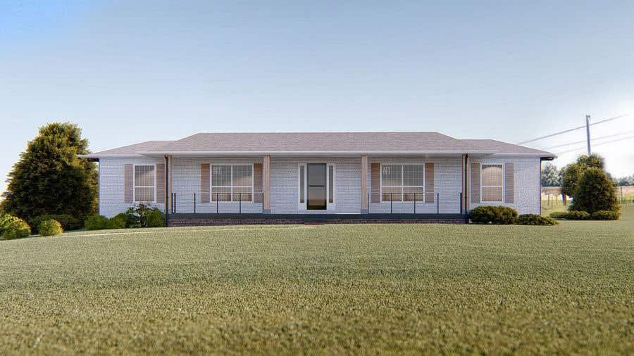 Penyertaan Peraduan #10 untuk House Front Design - Farmstyle