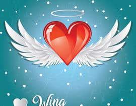 #116 untuk Create a heart with wings and crown Vector Image oleh shiekhrubel