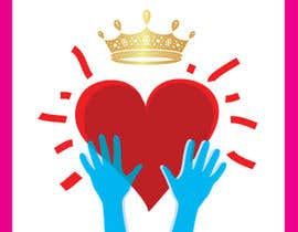 #117 for Create a heart with wings and crown Vector Image by shiekhrubel