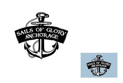 #4 para Sails of Glory Anchorage logo de marijoing