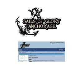 #5 para Sails of Glory Anchorage logo por marijoing
