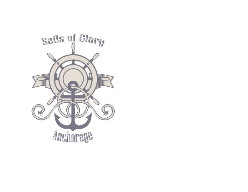 #19 para Sails of Glory Anchorage logo de natashaho