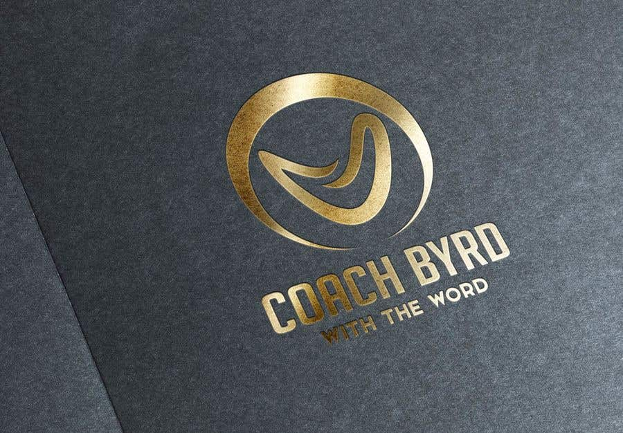 """Contest Entry #16 for I need a logo for my business. I am an aspiring motivational speaker so on my videos and motivational post i would like to have a logo that reads """"Coach Byrd With the word"""" preferred """"Coach Byrd"""" to be bigger than """"with the word""""."""
