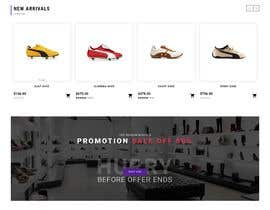 #25 for Build me a shoes e-commerce website af rakibullusa