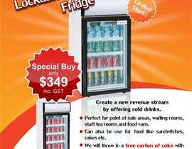 #9 for Flyer Design for Counter Top Display Fridge by Arttilla