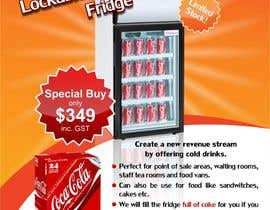 #11 untuk Flyer Design for Counter Top Display Fridge oleh Arttilla