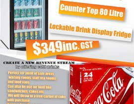 #7 para Flyer Design for Counter Top Display Fridge por stone01
