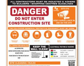 #10 untuk Construction Site Safety Sign oleh ValexDesign