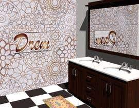 Nro 20 kilpailuun Bathroom wall mosaic design käyttäjältä gayatry
