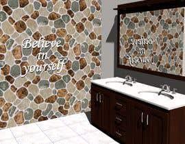 Nro 22 kilpailuun Bathroom wall mosaic design käyttäjältä gayatry