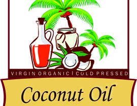 #43 untuk Coconut oil logo oleh chaveen