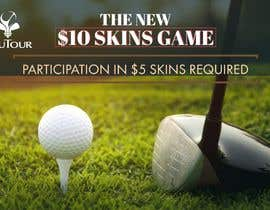 Nro 7 kilpailuun Promo graphic (golf) käyttäjältä Nevenacarica