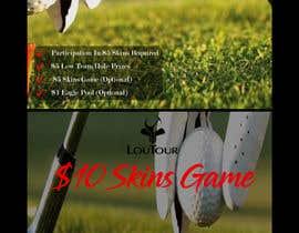 Nro 3 kilpailuun Promo graphic (golf) käyttäjältä SouravRoySumon