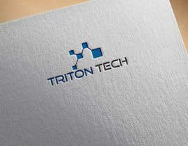 Nro 155 kilpailuun Logo for Triton Tech Brand käyttäjältä graphicrivar4