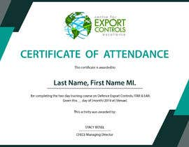 #2 for Certificate of Attendance Template by ariespilayre