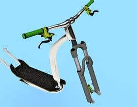 #17 para Build me a few 3d E-Scooter & Kickbike-Frames / Model-variations por emahirii