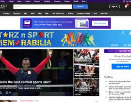 #25 для Need a website banner for my sports memorabilia website от irfananis07